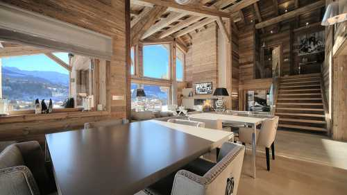 Private chalet, MEGEVE - Ref 68654